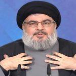 نصر الله: ليس لحزب الله مخازن بالمرفأ ونعرف ما بميناء حيفا أكثر من بيروت
