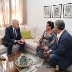 سعيّد لدى عيادته راضية النصراوي: تونس لا تزال في حاجة إليك