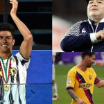 نجل مارادونا: والدي إله كرة القدم.. وميسي الأفضل بين البشر