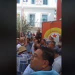 """بطحاء محمد علي: نقابيون يحتجّون ويرفضون """"التمديد والتوريث"""" للقيادة الحالية"""