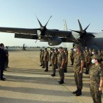 إرسال مستشفى عسكري ميداني ومخبر جرثومي متنقل الى الحامة (صور)