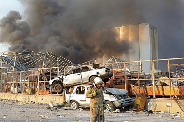 30 قتيلا و3000 مصاب: امتلاء مستشفيات بيروت والاسعافات تتم بمواقف السيارات