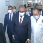 المشيشي يعود الوكيل رامي الإمام بمستشفى سهلول