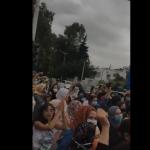"""مسيرة نحو القصر تطالب سعيّد بتنفيذ الإعدام في قاتل """"رحمة"""" / فيديو"""
