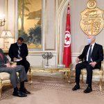 المسألة الليبية ومكافحة الارهاب محور لقاء سعيّد بوزير الدفاع الامريكي