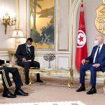 """سعيّد يلتقي قائد""""أفريكوم"""": تعزيز التعاون الثنائي في مكافحة الارهاب"""