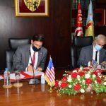 البرتاجي يلتقي وزير الدفاع الامريكي: إمضاء وثيقة خارطة طريق تعاون للعشرية القادمة