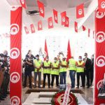 بحضور المشيشي ووزير الداخلية: تشييع جنازة الشهيد سامي مرابط (صور)