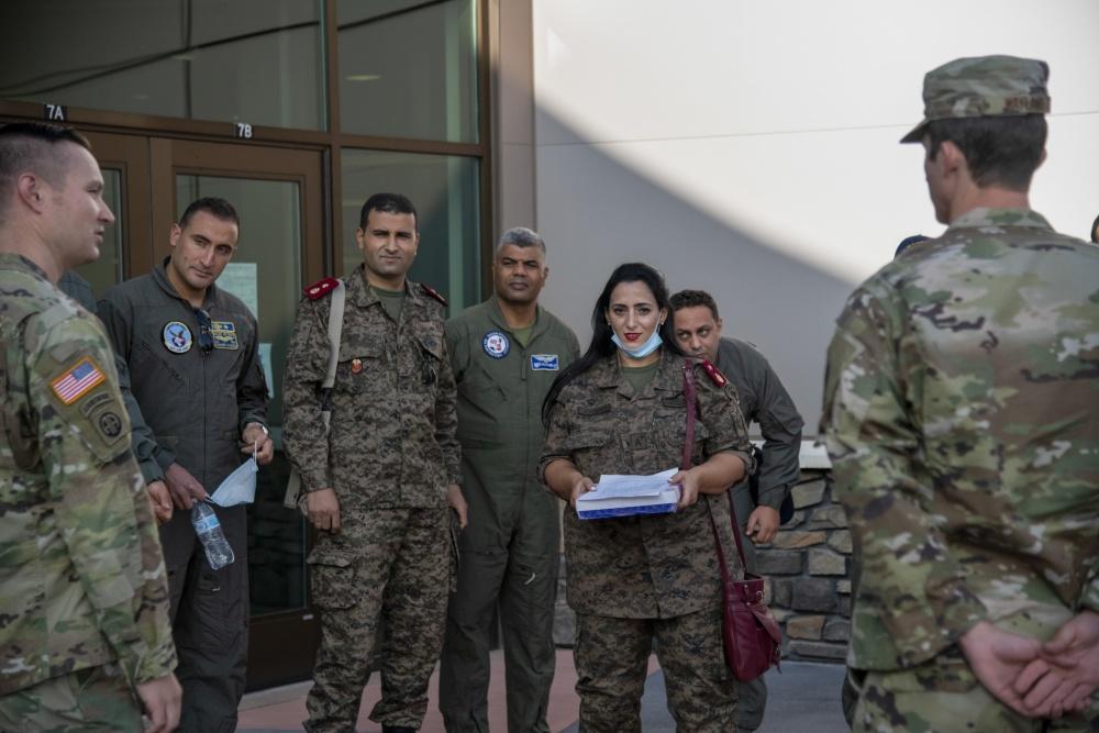 وزارة الدفاع: وفد عسكري تونسي يشارك في نشاط مشترك بأمريكا