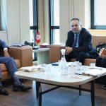 رئيس هيئة مكافحة الفساد الجديد يلتقي وفدا عن مجلس أوروبا