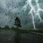 معهد الرصد الجوي: غدا وبعد غد أمطار غزيرة...صواعق ورياح قوية