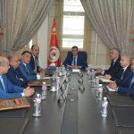 وزير الداخلية الجديد يجتمع بالقيادات الأمنية العليا