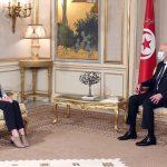 سعيد: تونس ملتزمة بمواصلة دعم البعثة الأممية الى ليبيا
