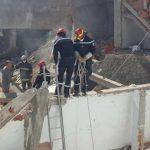 انفجار قارورة غاز بحي الزهور: انتشال جثة امراة وتواصل البحث عن مفقودين