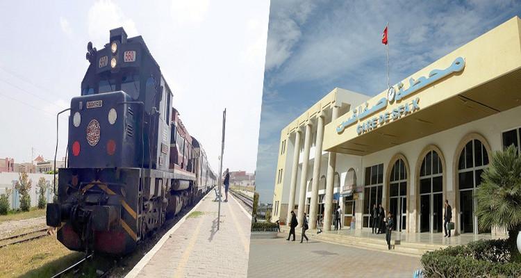 """الـ""""sncft"""": تغييرات في مواعيد القطارات بين تونس وصفاقس"""