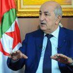 عبد المجيد تبون: ليبيا قد تتحول الى سوريا أو صومال جديد