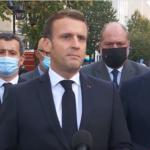 ماكرون: فرنسا تعرضت لهجوم إرهابي إسلامي