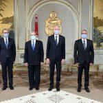 سعيّد يسلّم أوراق اعتماد سفيري تونس الجديدين بفرنسا وليبيا