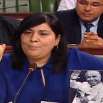 """عبير موسي تُعلن دخول """" نساء الكتلة"""" في اعتصام بالبرلمان"""