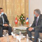 وزير الداخلية يلتقي سفير فرنسا