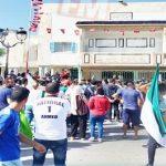 جماهير هلال الشابة تحتجّ أمام مقرّ ولاية المهدية
