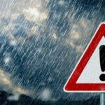 طقس اليوم: أمطار رعديّة وغزيرة ورياح قويّة