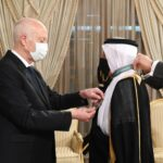سعيّد يُوسّم سفير السعودية بمناسبة انتهاء مهامه