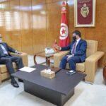 حافظ الزواري يعرض على وزير النقل 4 مشاريع بجهة الساحل