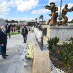سعيّد يُشرف على موكب إحياء ذكرى استشهاد أعوان من الأمن الرئاسي في عملية شارع محمد الخامس الارهابية