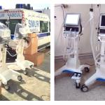 """سفارة أمريكا بتونس: شركة """"Pfizer"""" تبرّعت لوزارة الصحة بـ 8 أجهزة تنفس"""