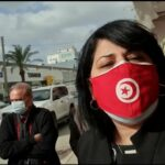 """عبيرموسي: الأمن يُعاين اعتصامنا أمام مقر جمعية """"اتحاد القرضاوي"""" باذن من النيابة العمومية"""