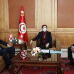 الأموال المجمّدة بالبنوك السويسرية محور لقاء وزيرة أملاك الدولة بسفير سويسرا