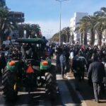 في يوم الغضب بجندوبة: مسيرة احتجاجيّة تُطالب بمُحاسبة المسؤولين وبرحيل الوالي
