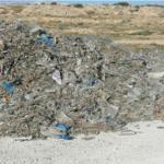 الشبيكة: العثور على أطنان من النفايات مجهولة المصدر