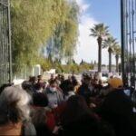 جمعية النساء الديمقراطيات: نائب عن النهضة حاول دهس مُحتج أمام البرلمان