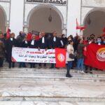 جامعة أعوان العدلية ترفض التسخير وتتّهم الوزارة بتأخير صرف جرايات منظوريها والقضاة