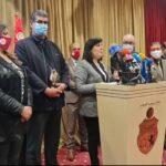 """يتضمّن منع الاسلام السياسي: عبير موسي تعرض """" ميثاقا سياسيا """" كمبادرة موجهة للاحزاب والمنظمات"""