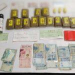 الحرس الوطني: حجز 14 صفيحة مخدرات وإيقاف 3 أشخاص