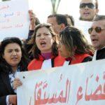 رئيسة نقابة القضاة: 1500 قاض أمضوا على رفض الاتفاق والتمديد في الاضراب
