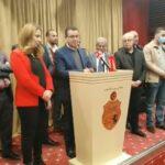 المغزاوي: النزول للشارع وتعليق عضويتنا بالبرلمان وراد