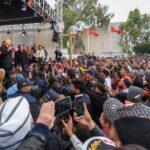 منهم قيس سعيد:  سيدي بوزيد تُحيي ذكرى اندلاع الثورة في غياب كبار مسؤولي الدولة