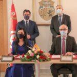 الأولى على المستوى الافريقي : توقيع اتفاقية لرقمنة المبيعات والدفع الالكتروني بين البريد وتونيسار والشركة التونسية للملاحة