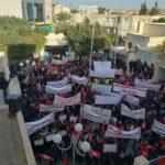 رغم التفشي الخطير لكورونا: مسيرة حاشدة بقفصة في يوم الغضب /صور