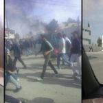 سيدي بوزيد: احتقان في جلمة والأمن يستعمل الغاز المسيل للدموع