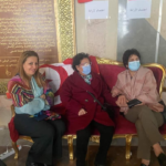 رغم المرض: راضية النصراوي في البرلمان لمساندة اعتصام الكتلة الديمقراطية
