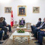 """المشيشي في لقاء بوفد عن """"قلب تونس"""":  القضاء المستقلّ سيكون الفيصل في قضية القروي"""