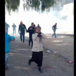 سبيطلة: غاز مسيل للدموع في جنازة الشاب هيكل الراشدي/فيديو