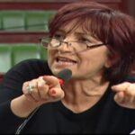 """سامية عبو : """" ما يحدث اليوم فضيحة .. كلوشارات وهوكش في البرلمان """""""