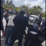 الأمن يفُضّ بالقوة وقفة احتجاجية للدكاترة المعطلين عن العمل/ فيديو