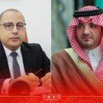المشيشي يُعلن مساندة تونس مبادرة أطلقها ولي العهد السعودي